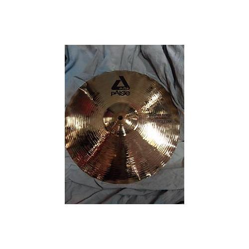Paiste 14in Alpha Sound Edge Hi Hat Pair Cymbal