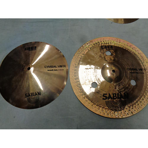 Sabian 14in B8 Assault Hats Cymbal