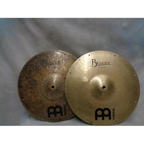 Meinl 14in Byzance Fast Hi-Hats Cymbal