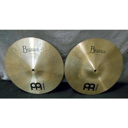 Meinl 14in Byzance Traditional Hi Hat Medium Pair Cymbal
