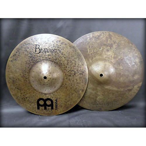 Meinl 14in Byzance Vintage Sand Hi Hat Pair Cymbal
