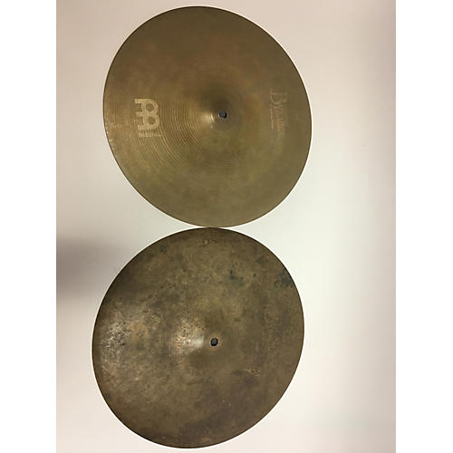 used meinl 14in byzance vintage sand hi hat pair cymbal 33 guitar center. Black Bedroom Furniture Sets. Home Design Ideas