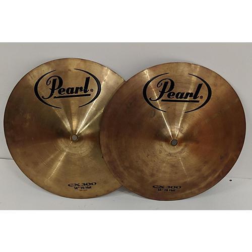 Pearl 14in CX300 HI HAT Cymbal