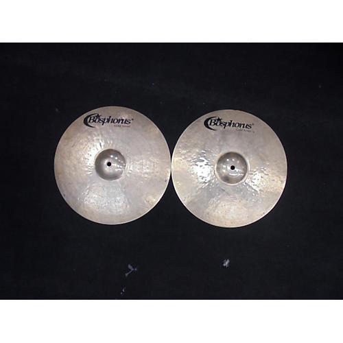 Bosphorus Cymbals 14in Gold Series Hi Hat Pair Cymbal