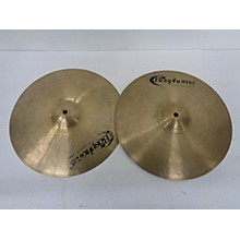 Bosphorus Cymbals 14in Gold Series Hi Hat Pair Cymbal