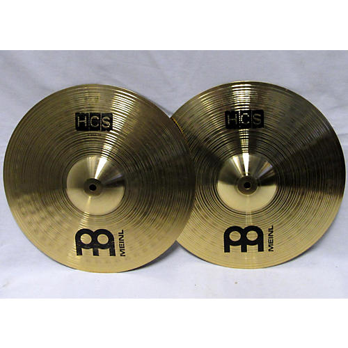 used meinl 14in hcs hi hat pair cymbal 33 guitar center. Black Bedroom Furniture Sets. Home Design Ideas
