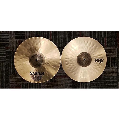 Sabian 14in HHX X-CELERATOR HI HATS Cymbal
