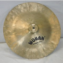 """Wuhan 14in Hand Made China 14"""" Cymbal"""