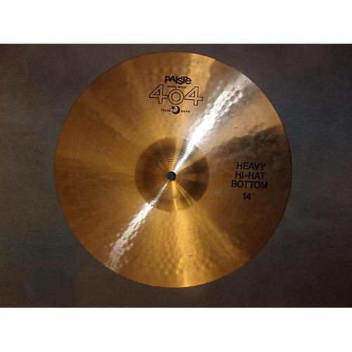 Paiste 14in Heavy Hi Hat Bottom Cymbal