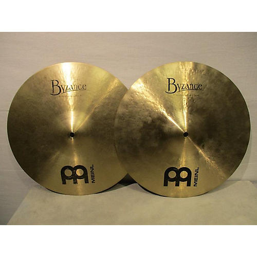 Meinl 14in Heavy Soundwave Hi Hat Pair Brilliant Cymbal