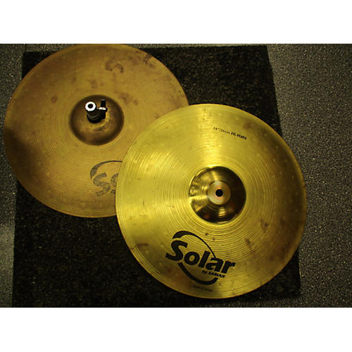 Solar by Sabian 14in Hi Hat Pair Cymbal