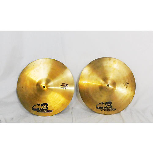 CB Percussion 14in Hi Hats Cymbal