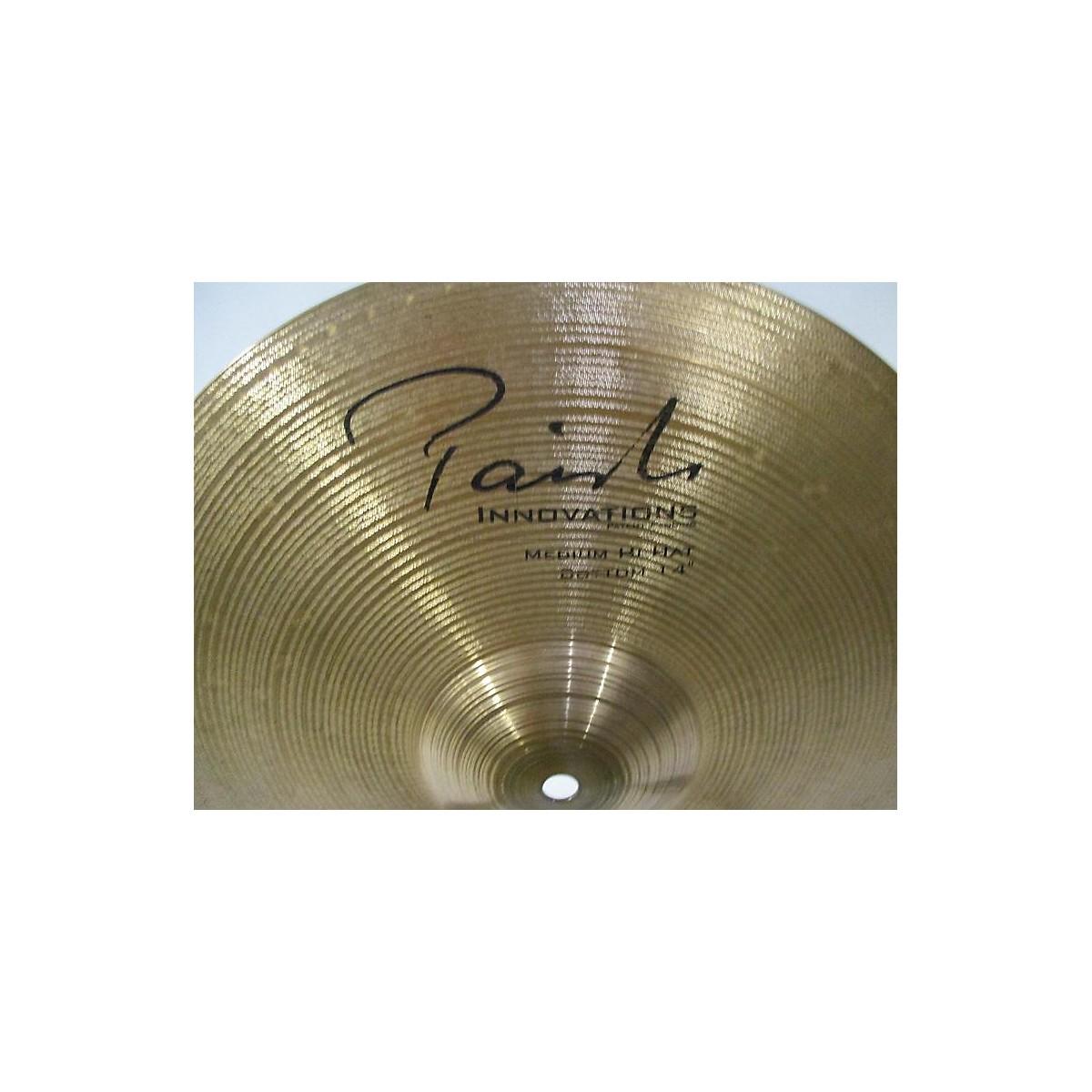 Paiste 14in Innovations Medium Hi-hat Pair Cymbal