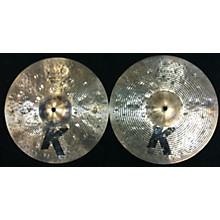 Zildjian 14in K CUSTOM SPECIAL DRY HATS Cymbal