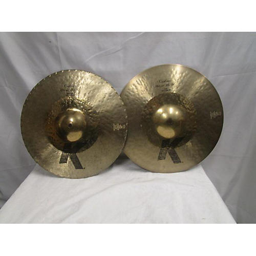 Zildjian 14in K Custom Hybrid Hi Hat Pair Marching Cymbal
