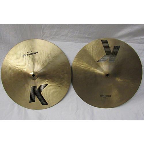 Zildjian 14in K Hi Hat Pair Cymbal