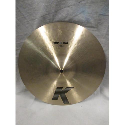 Zildjian 14in K Hi Hat Top Cymbal