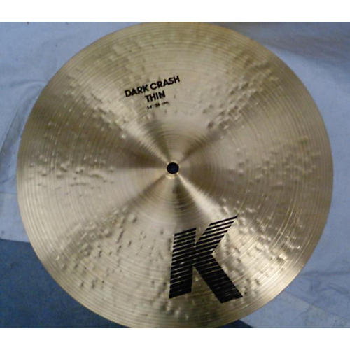 Zildjian 14in K Medium Dark Thin Crash Cymbal