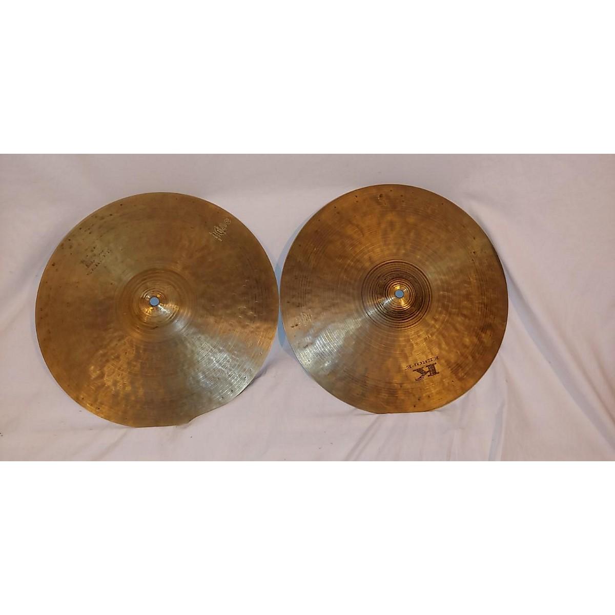 Zildjian 14in Kerope Hi-Hat Pair Cymbal