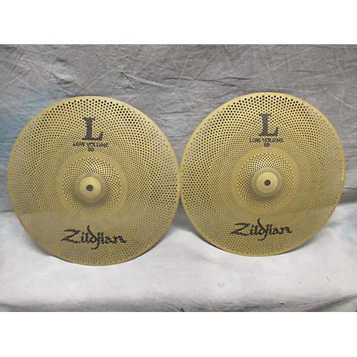 Zildjian 14in L80 Low Volume Hi-Hat Pair Cymbal