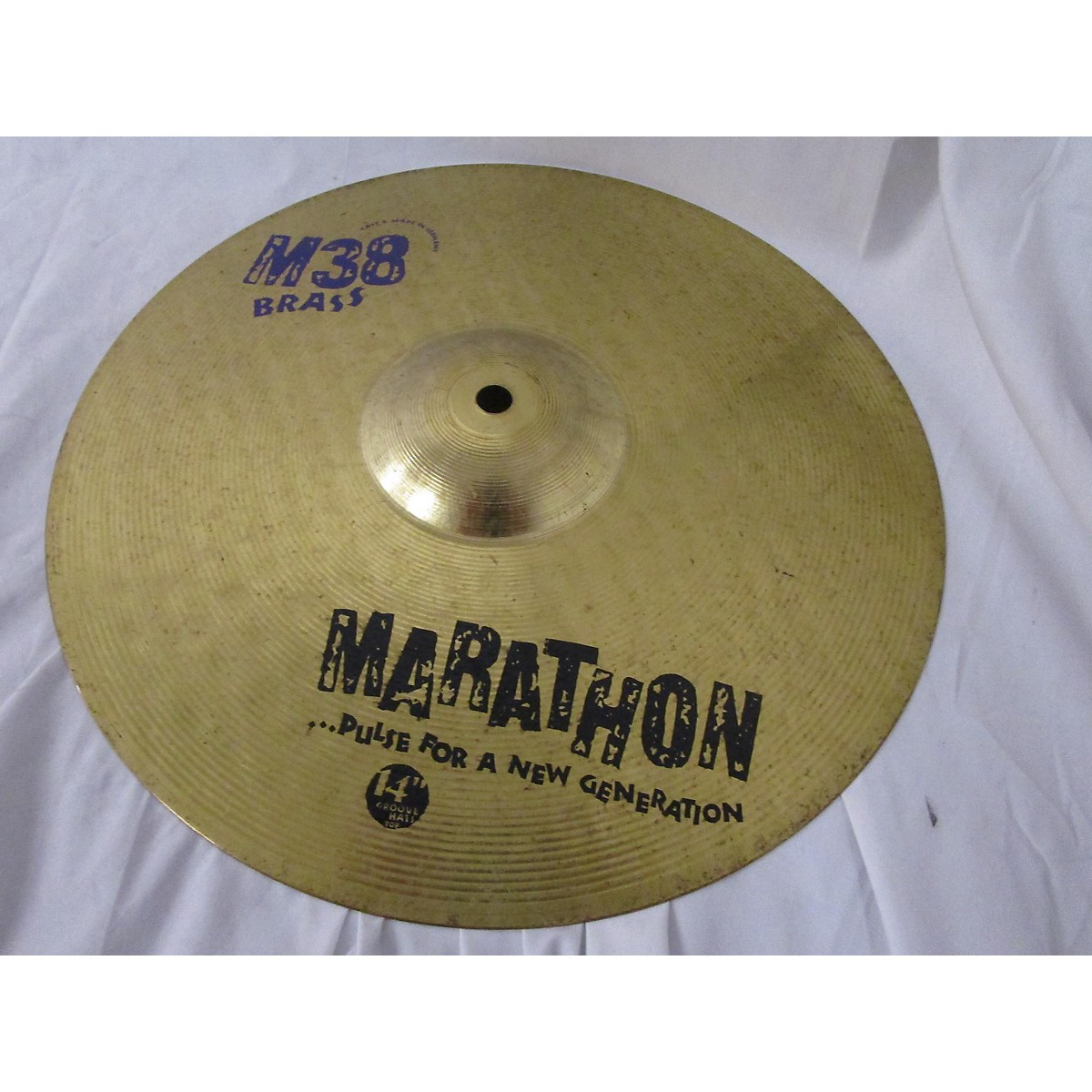 Meinl 14in MARATHON M38 BRASS Hi Hat Top Cymbal