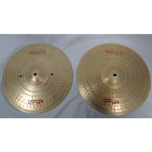 UFIP 14in NATURAL SERIES MEDIUM Cymbal