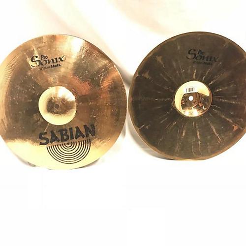 Sabian 14in PRO SONIX HI-HATS Cymbal
