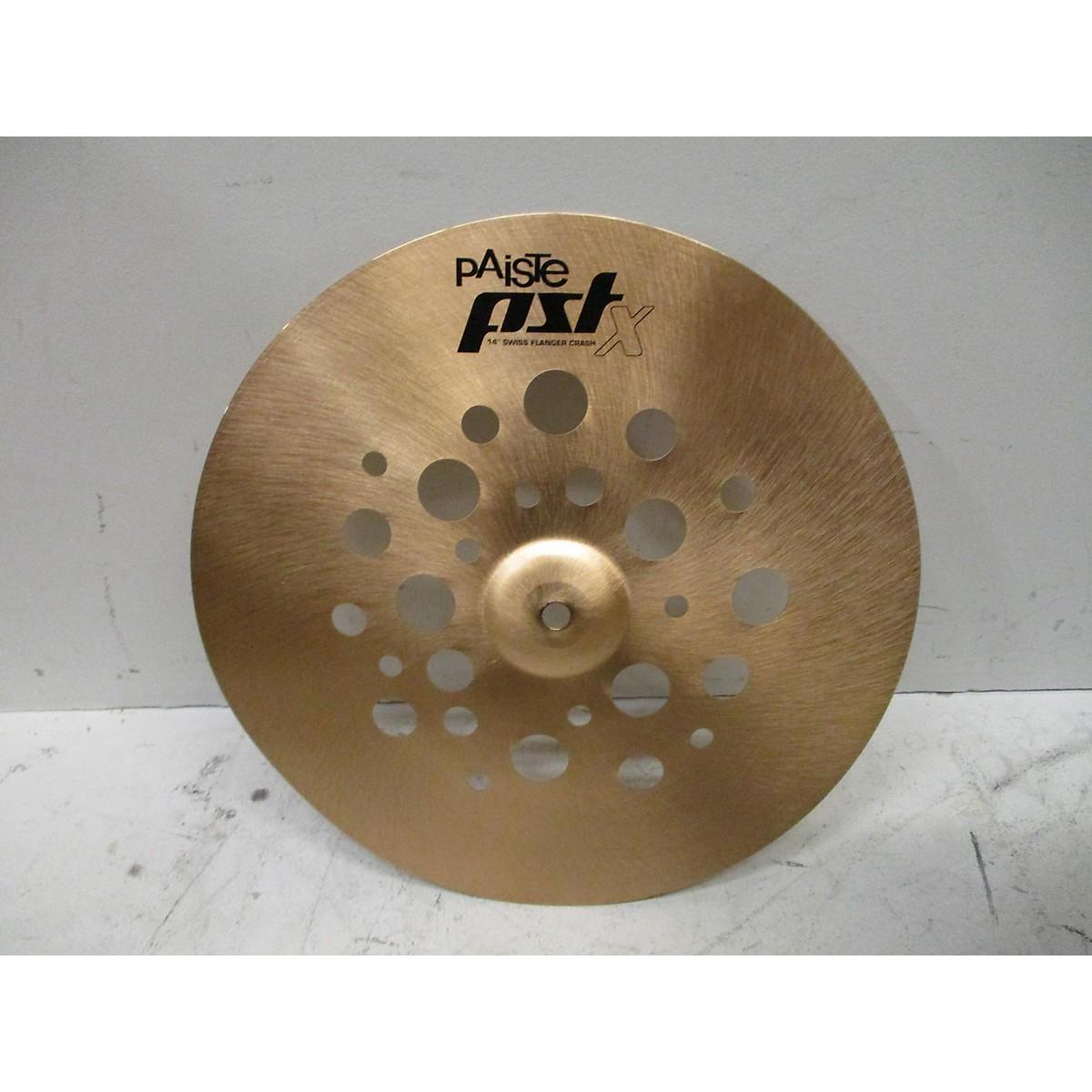 Paiste 14in PSTX Flanger Crash Cymbal