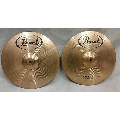 Pearl 14in Pro HI Hat Pair Cymbal