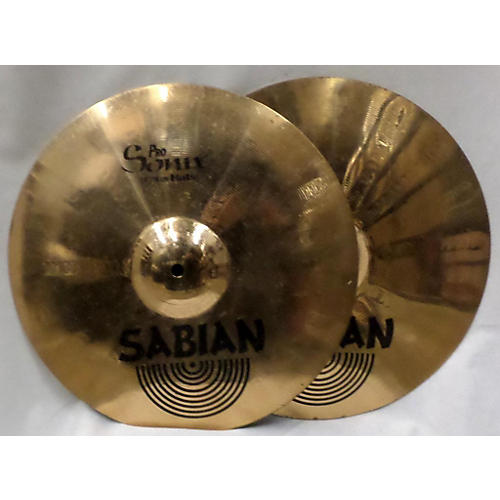 Sabian 14in Pro Sonix Hi Hat Pair Cymbal
