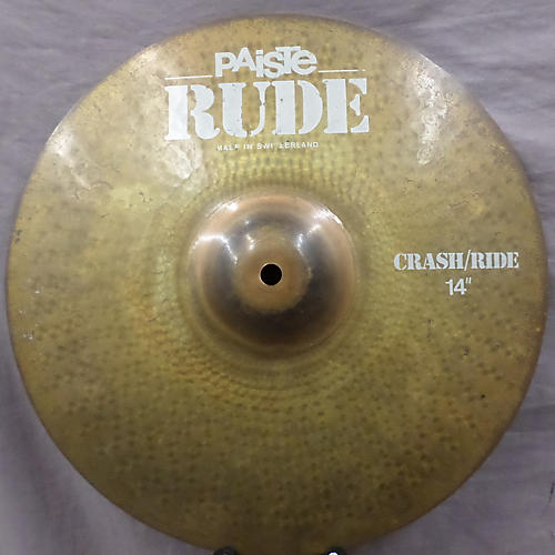 Paiste 14in Rude Classic Crash Ride Cymbal