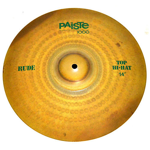 Paiste 14in Rude Hi Hat Pair Cymbal