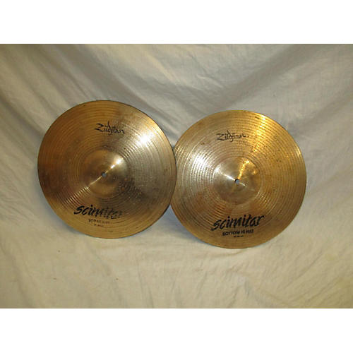 Zildjian 14in SCIMITAR HATS Cymbal