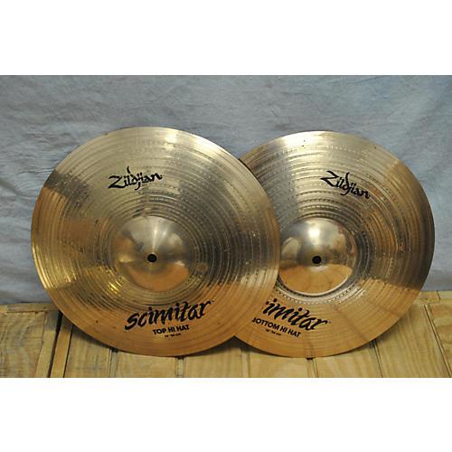 Zildjian 14in Scimitar Hi-hat Pair Cymbal
