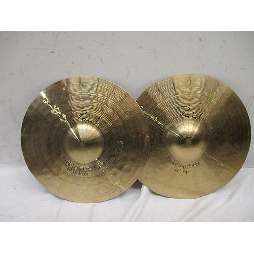 used paiste 14in signature dark crisp hi hat pair cymbal 33 guitar center. Black Bedroom Furniture Sets. Home Design Ideas