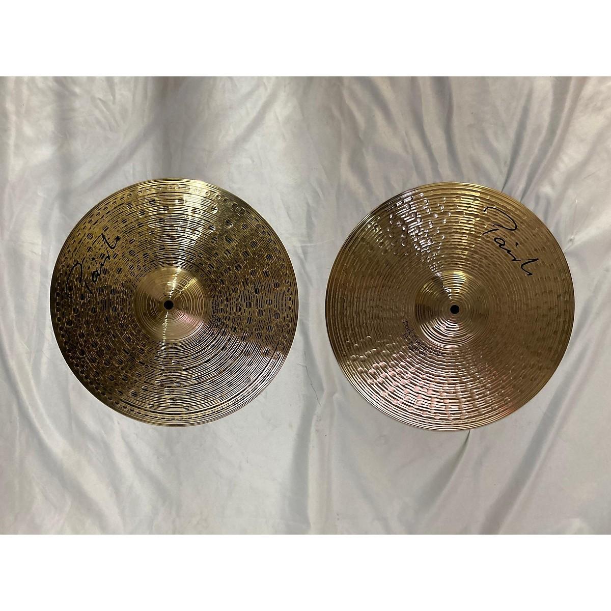 Paiste 14in Signature Dark Energy Hi Hat Pair Cymbal