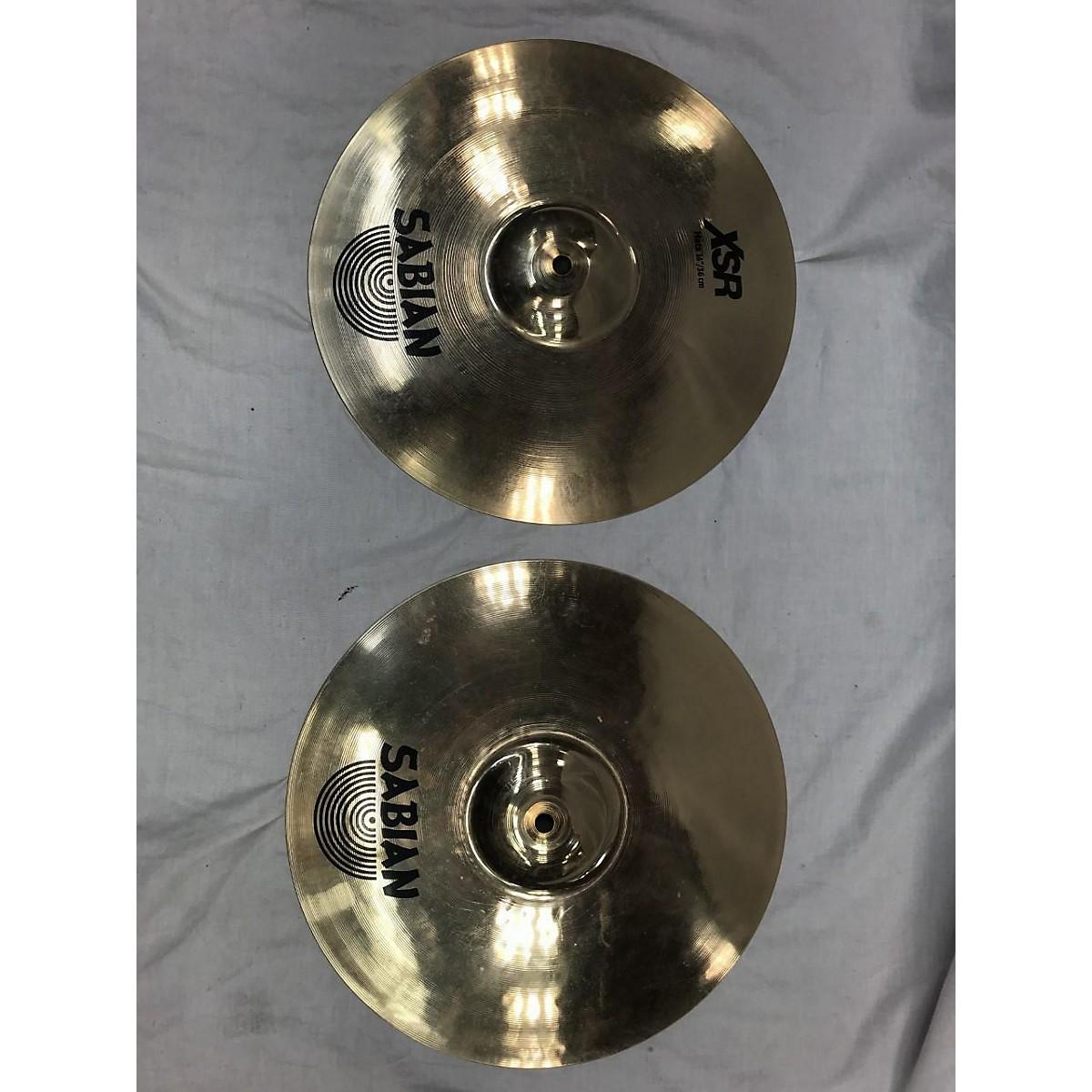 Sabian 14in XSR Hi-hat Pair Cymbal