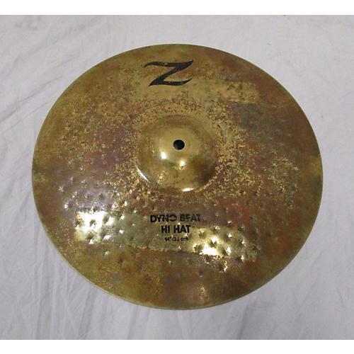 Zildjian 14in Z Custom Dyno Beat Hi Hat Cymbal