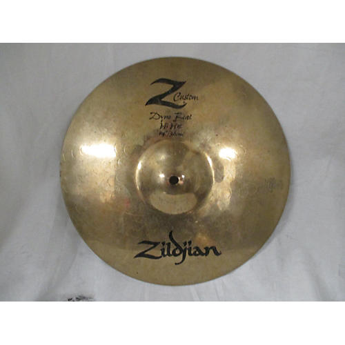 used zildjian 14in z custom dyno beat hi hat cymbal 33 guitar center. Black Bedroom Furniture Sets. Home Design Ideas