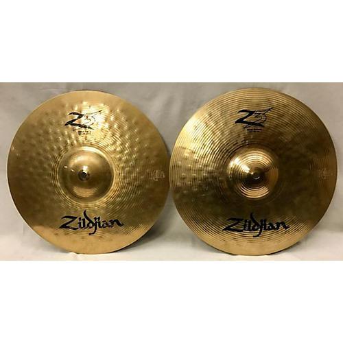 Zildjian 14in Z3 Hi Hat Pair Cymbal