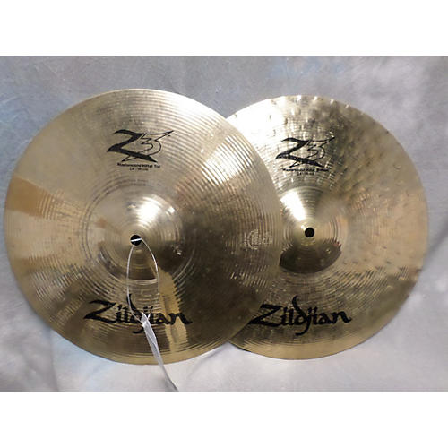 Zildjian 14in Z3 Mastersound Hi Hat Pair Brilliant Cymbal