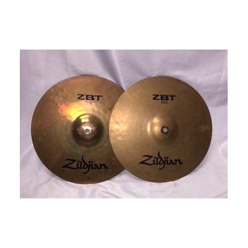 used zildjian 14in zbt hi hat pair cymbal 33 guitar center. Black Bedroom Furniture Sets. Home Design Ideas