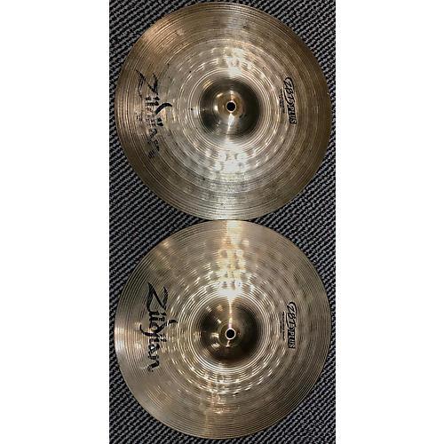 Zildjian 14in ZBT Plus Rock Hi Hats Pair Cymbal