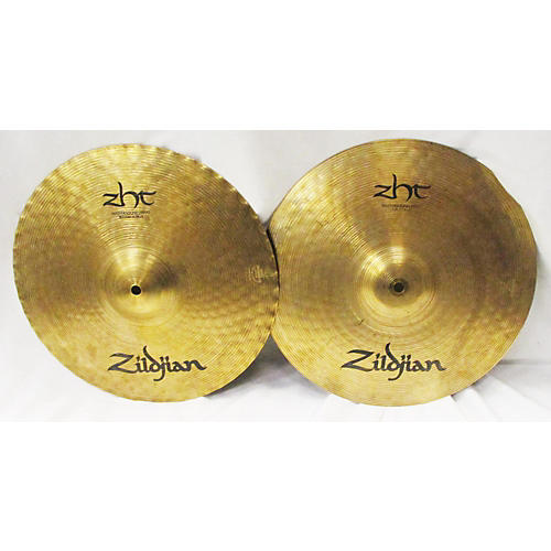 used zildjian 14in zht mastersound hi hat pair cymbal 33 guitar center. Black Bedroom Furniture Sets. Home Design Ideas