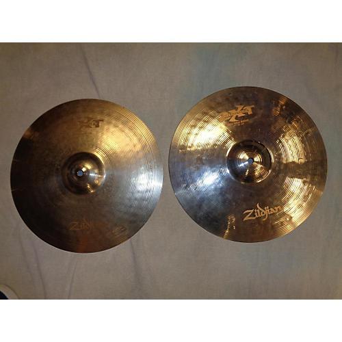 Zildjian 14in ZXT Titanium Hats Pair Silver Cymbal