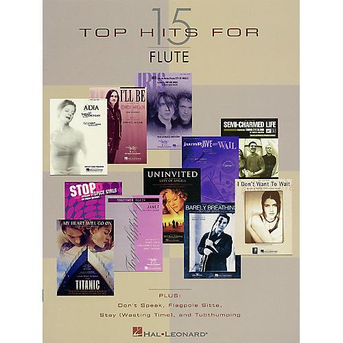 Hal Leonard 15 Top Hits Instrumental Folio Series