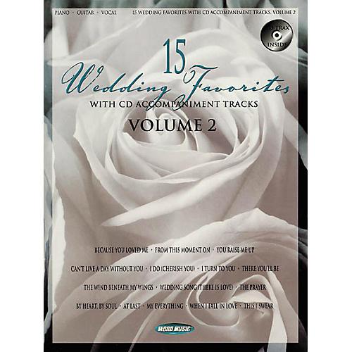 Word Music 15 Wedding Favorites - Volume 2 Book