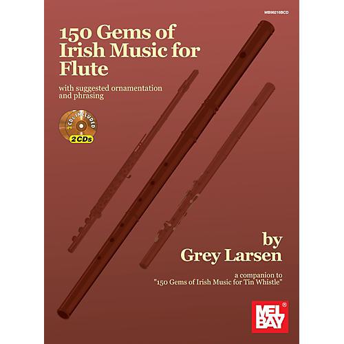 Mel Bay 150 Gems of Irish Music for Flute