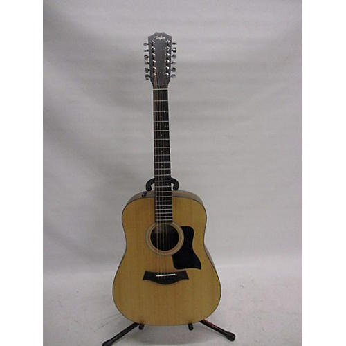 used taylor 150e 12 string acoustic electric guitar natural walnut guitar center. Black Bedroom Furniture Sets. Home Design Ideas
