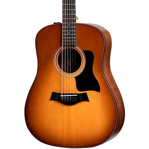 taylor 150e dreadnought 12 string acoustic electric guitar sunburst guitar center. Black Bedroom Furniture Sets. Home Design Ideas